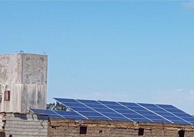 Solar pumping project in MOULAY BOUSSELHAM 11.05 KW