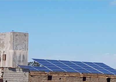 Projet de pompage solaire à MOULAY BOUSSELHAM 11,05 KW