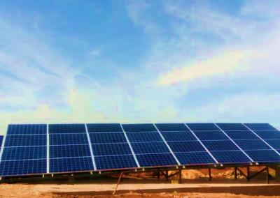 Projet de pompage solaire à TIFLET  10,6 KW