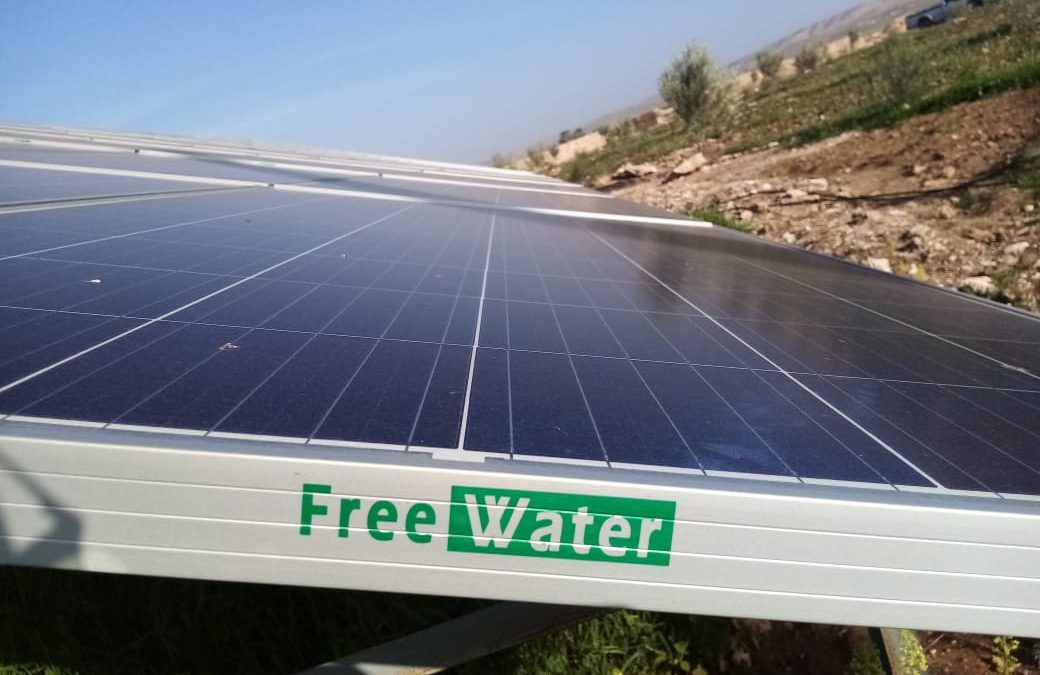 Solar pumping project in Douar LAHRACH commune tiji 15 KW