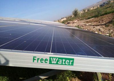 Projet de pompage solaire à Douar LAHRACH commune tiji  15 KW