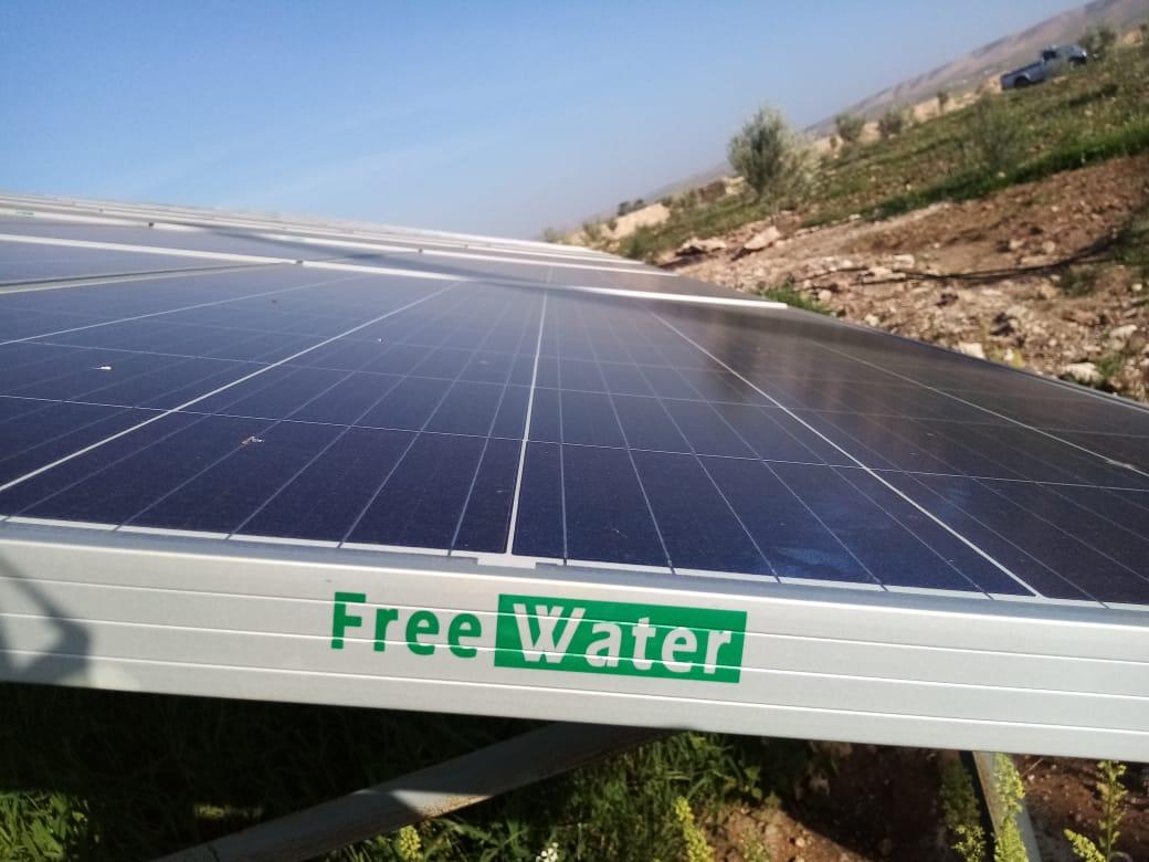 projet-de-pompage-solaire-a-Douar-lahrach-commune-tiji