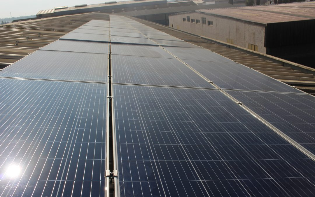 Grid solar project at KENITRA 15 KW