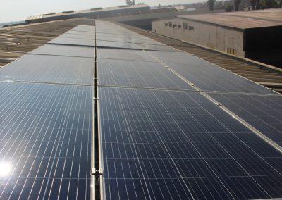 Projet solaire connecté au réseau à KENITRA 15 KW