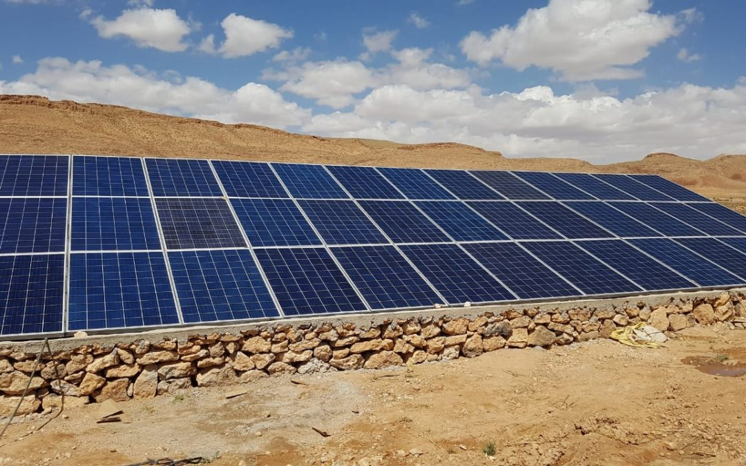 Solar pumping project in Essaouira 22.4 KW