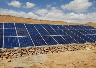 Projet de pompage solaire à Essaouira 22,4 KW