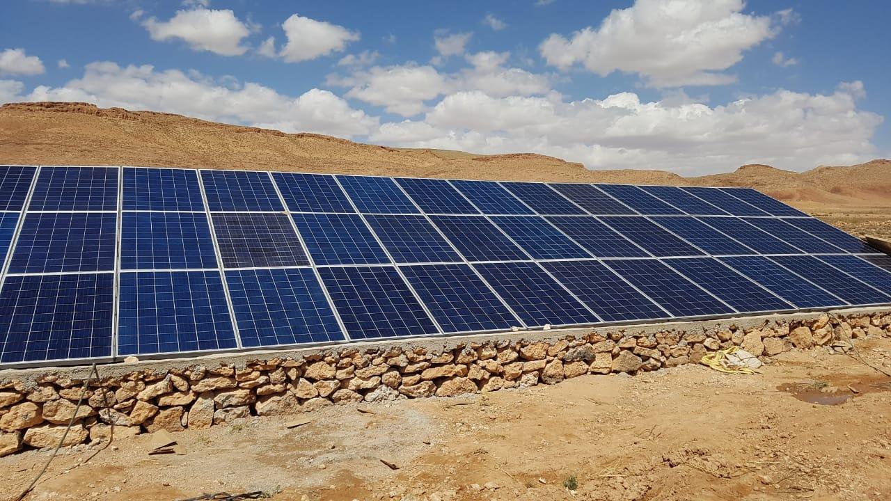 Projet de pompage solaire à Essaouira