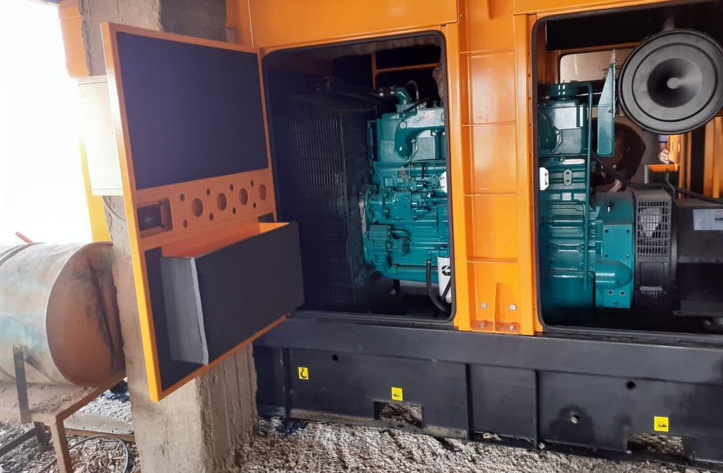 Supply and installation of a 250 KVA generator set at BNI Tdjit