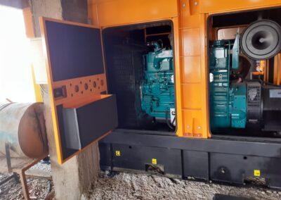 Fourniture et installation d'un Groupe Électrogène 250 KVA à BNI Tdjit
