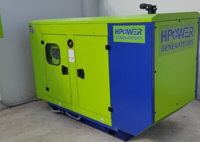 Supply and installation of 66 KVA generator set project in Guercif