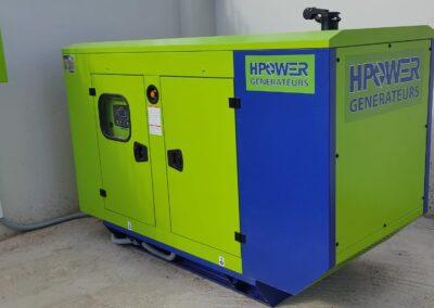 Projet fourniture et installation de groupe électrogène 66 KVA à Guercif