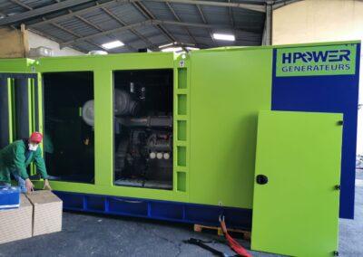 Supply and Installation of 2 Generators 800 and 1200 KVA at IAM Rabat